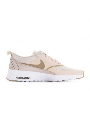 low priced 31115 dff35 599409-033 Nike Femme Nike Air Max Thea Chaussures - Desert Sand Blanche ...