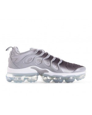 924453-007 Nike Vapormax Plus Chaussures - Grise/Blanche