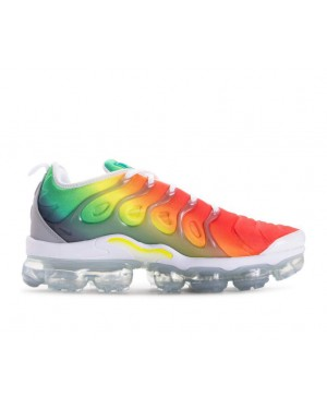 924453-103 Nike Air Vapormax Plus Chaussures - Mulitcolor/Blanche