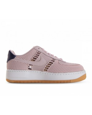 917591-600 Nike Femme Air Force 1 Upstep SI - Particle Rose/Particle Rose/Blanche