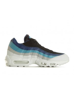 749766-026 Nike Air Max 95 Essential - Pure Platinum/Noir/Navy/Noise Auqa