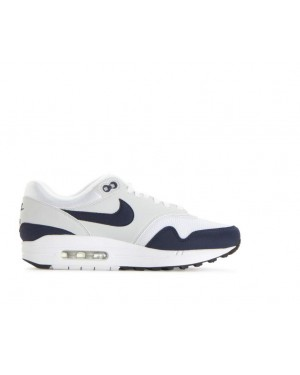 half off fdc2b d8d76 319986-104 Nike Femme Air Max 1 Chaussures - Blanche Obsidian ...