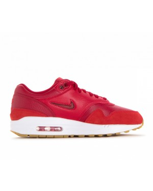 AA0512-602 Nike Femme Air Max 1 Premium SC - Gym Rouge/Gym Rouge-Rouge