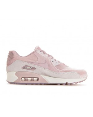 898512-600 Nike Femme Air Max 90 LX - Particle Rose/Particle Rose-Grise