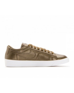 AA3961-900 Nike Femme Blazer Low LE - Metallic Field/Metallic Field-Blanche